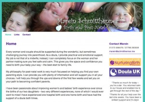 Marein Schmithenner - Brighton Doula website
