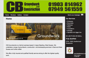 cbgroundwork Ltd screen shot