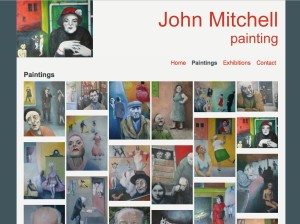 John Mitchell paintings website