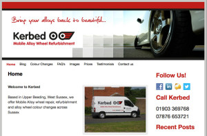 kerbed Alloy Wheel Repairs Website