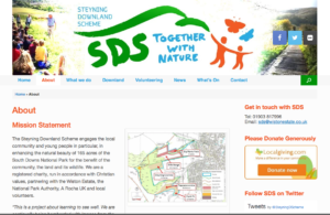 Steyning downland scheme - websites example