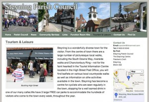 Steyning Parish Council website